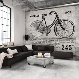 Fototapet Bicicleta vintage