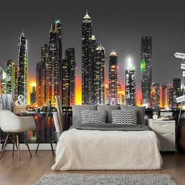 Fototapet - Desert City (Dubai)