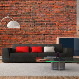 Fototapet - design: brick
