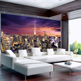 Fototapet - Evening in New York City
