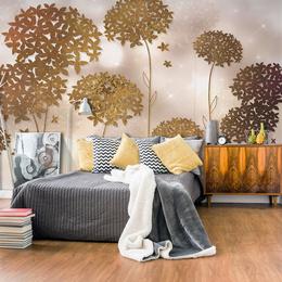 Fototapet - Golden Garden