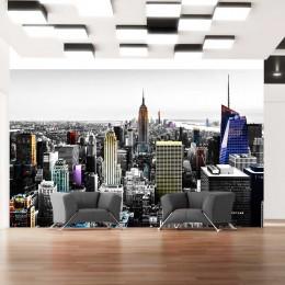 Fototapet - Iridescent skyscrapers