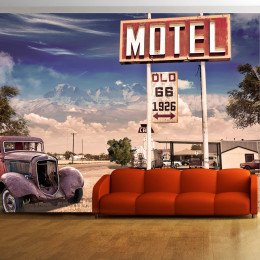 Fototapet - Old motel