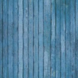 Fototapet Usa veche albastra de lemn