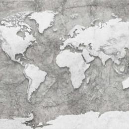 Harta lumii deco 3D
