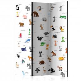 Paravan - animals (for children) [Room Dividers]