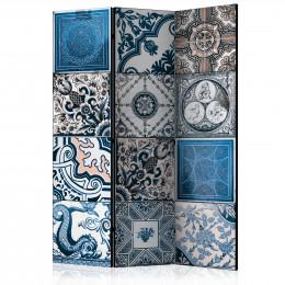 Paravan - Blue Arabesque [Room Dividers]
