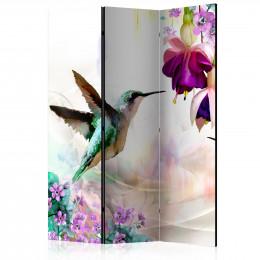 Paravan - Hummingbirds and Flowers [Room Dividers]