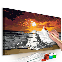 Pictura pe numere - Marea (Cerul in Flacari)