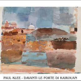 "Poster de arta Klee ""In fata portii din Kairouan"""