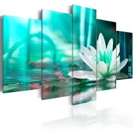 Tablou - Turquoise Lotus