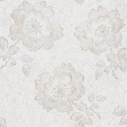 Tapet superlavabil cu model grafic cu flori