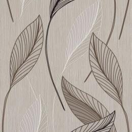 Tapet superlavabil Frunze grafice