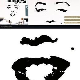 "Sticker decorativ ""Marilyn"""
