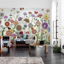 Fototapet cu model floral grafic Brazil