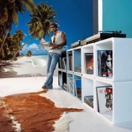 Fototapet peisaj exotic Maldives