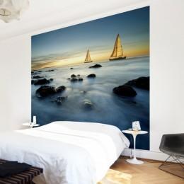 Fototapet vlies cu peisaj marin Navigand pe ocean