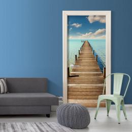 Fototapet pentru ușă - Turquoise Harbour