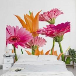Fototapet vlies Armonii florale cu gherbere