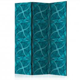 Paravan - Geometric Turquoise [Room Dividers]