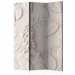 Paravan - Paper Flowers (Cream) [Room Dividers]