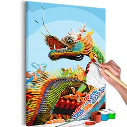 Pictatul pentru recreere - Colourful Dragon