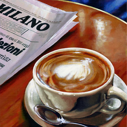 "Poster ""Capucino"""