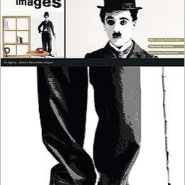 "Sticker de perete ""Charlie Chaplin"""