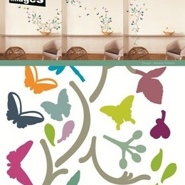 """Sticker decorativ """"Fluturi I"""""""
