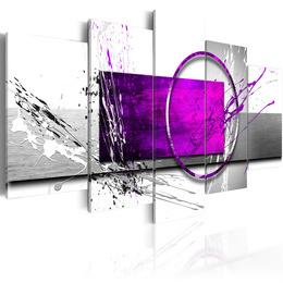 Tablou - Purple Expression
