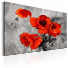 Tablou - Steel Poppies