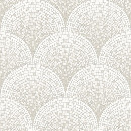 Tapet superlavabil cu aspect de mozaic