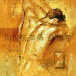 Tablou ''Nud I'' inramat