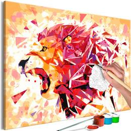 Pictatul pentru recreere - Abstract Lion