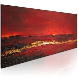 Tablou pictat manual - Redness of the ocean