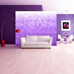 Fototapet - Violet pixel