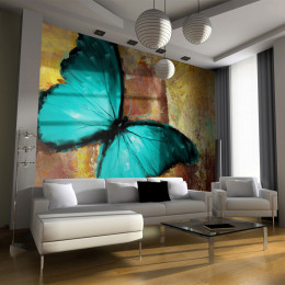 Fototapet - Painted butterfly