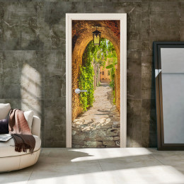 Fototapet pentru ușă - Alley in Italy