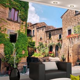 Fototapet vlies Alee in Toscana