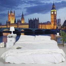 Fototapet vlies Londra, noaptea