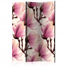 Paravan - Blooming Magnolias [Room Dividers]