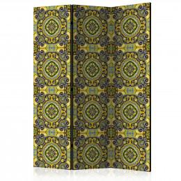 Paravan - Malachite Mosaic [Room Dividers]