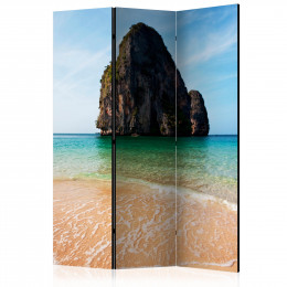 Paravan - Rock formation by shoreline, Andaman Sea, Thailand [Room Dividers]