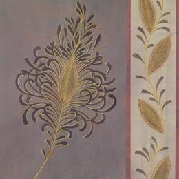 Poster decorativ cu foita aurie Opulent II
