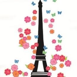 """Sticker decorativ """"Turnul Eiffel"""""""