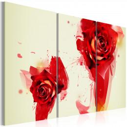 Tablou canvas Compozitie cu trandafiri