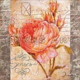 Tablou Colaj cu trandafir