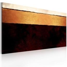 Tablou pictat manual - Straturile Pamantului