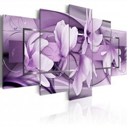 Tablou - Purple Wave