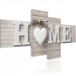 Tablou - Retro style: HOME